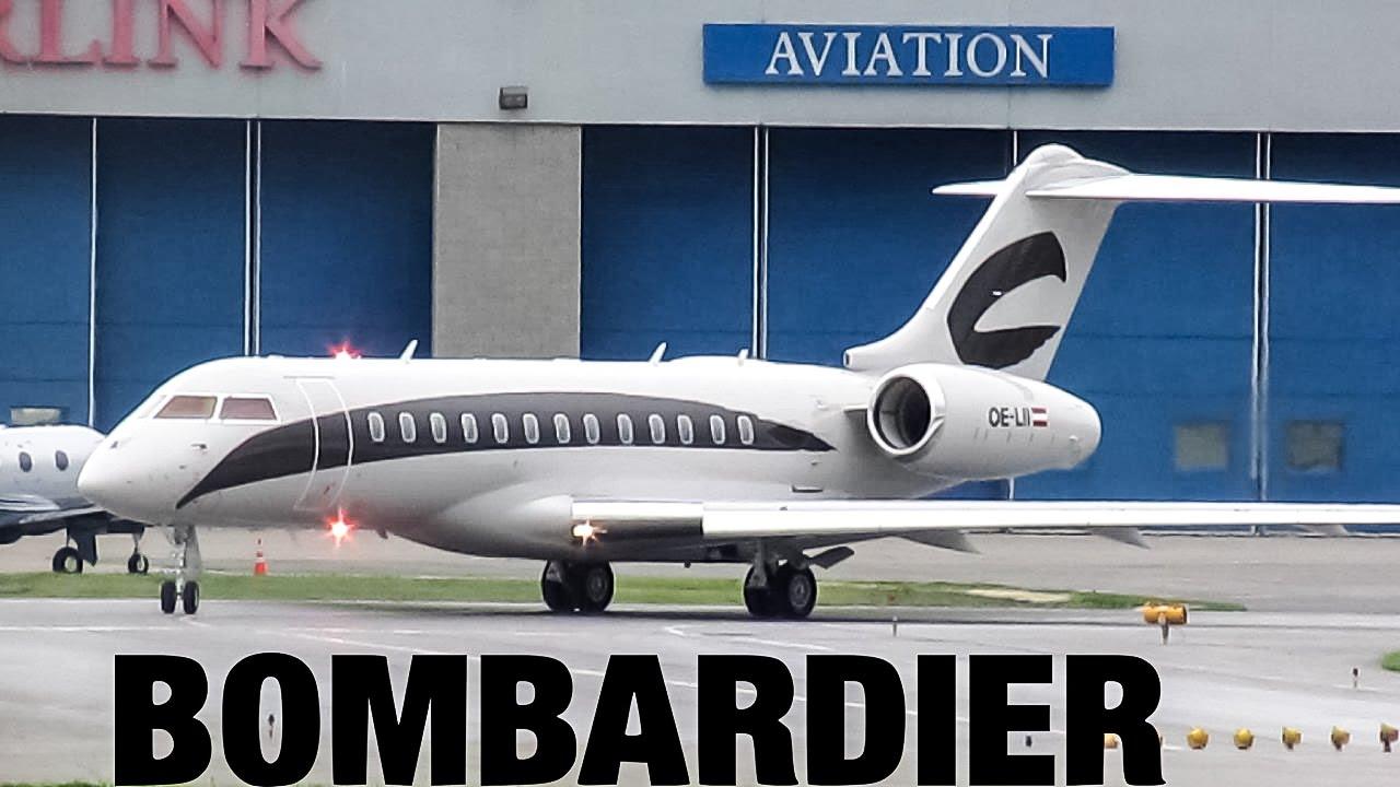 Jet Privato Niki Lauda : Niki lauda global glex taxiing departing yul on
