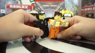 🚔 ROBLOX PRISON LIFE ACTION FIGURES UNBOXING GAME PACK SERIES 2 -TOYS R US