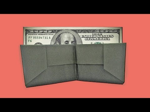 Diy paper wallet | How to make a Origami wallet | Easy origami