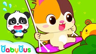 Yes Yes Swinging Safety Song | Kids Safety Tips | Baby Songs | Nursery Rhymes | Education | BabyBus