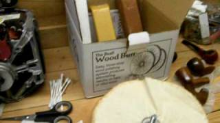 Pipe Stem Restoration Pt. 3: Buffing Equipment - HereComesCharlie