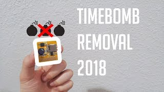 How to remove R4 Timebomb 2018!