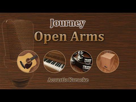 Open Arms - Journey (Acoustic Karaoke)