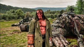 Hellboy vs Giants | Fight Scene (4K)