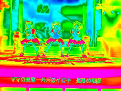 THE iDOLM@STER ポジティブ 5th iPod nanoによる特殊効果 サーモグラフィ-