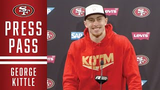 George Kittle: 'We're Excited to Play Football on Saturday' | 49ers