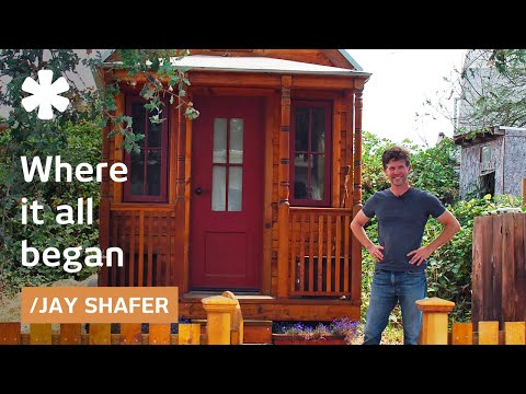 a tiny home tour jay shafers 89 square foot home on wheels - 8x12 Tiny House On Wheels Plans
