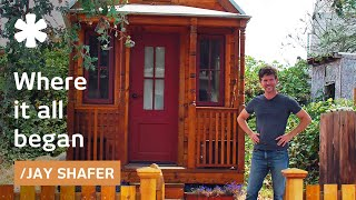 a tiny home tour jay shafer s 89 square foot home on wheels