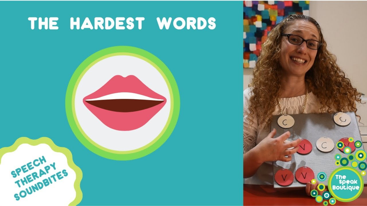 Ep. #18: The Hardest Syllable Shapes for Children in Speech Therapy