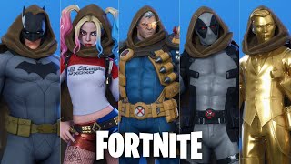 Fortnite - Cable Cloak Hood Up on All Skins (That I Own)