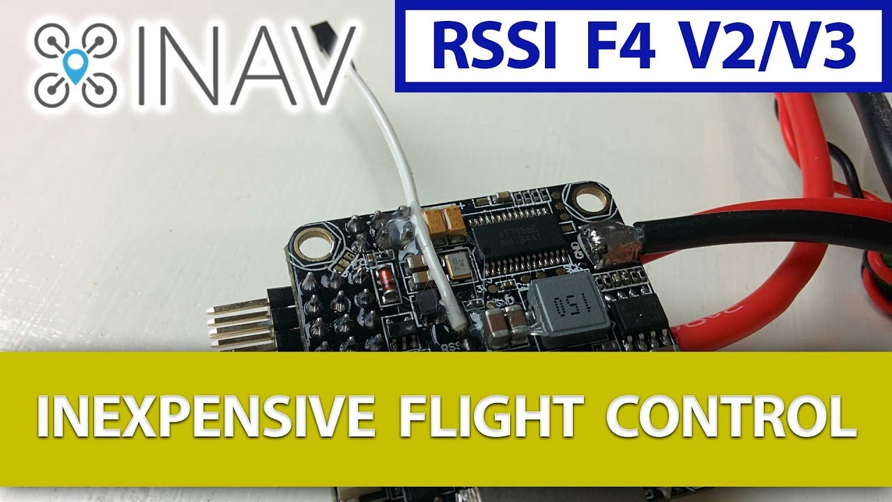 Inav - Rssi Connection Wire On The Omnibus F4 V2 Board  Step By Step