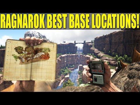 The Best Base Locations on Ragnarok! : ARK