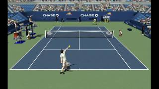 Andy Murray vs Djokovic  | Finale US Open 2012  | Full Ace Tennis Simulator 2012