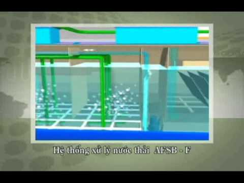 Video 3D công nghệ xử lý nước thải phân tán của VESA