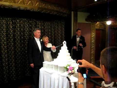 Wedding Reception On Cruise Ship Youtube
