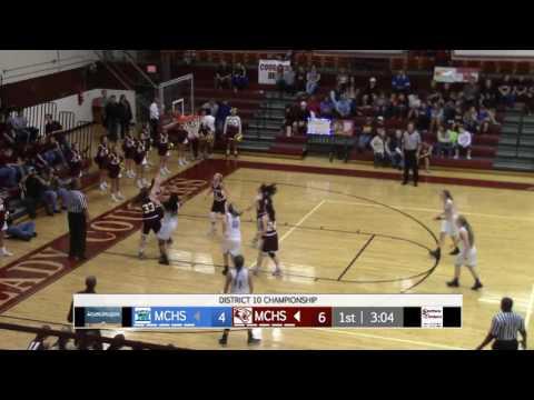 McLean County Girls vs Muhlenberg DISTRICT 10 Championship 2/22/17