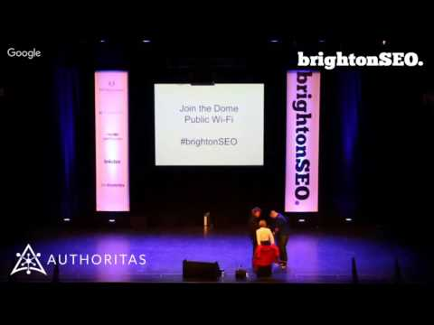BrightonSEO LIVE - Morning Sessions - brought to you by Authoritas.com