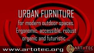 Artotec Urban Furniture Trailer - An Unique  Organic, Ergonomic And Futuristic Design.