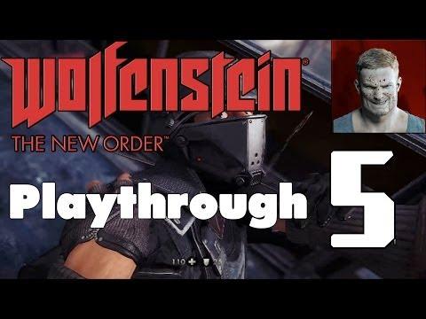 WOLFENSTEIN: THE NEW ORDER | Fergus Timeline | Über Playthrough | #5: A New World Part 2