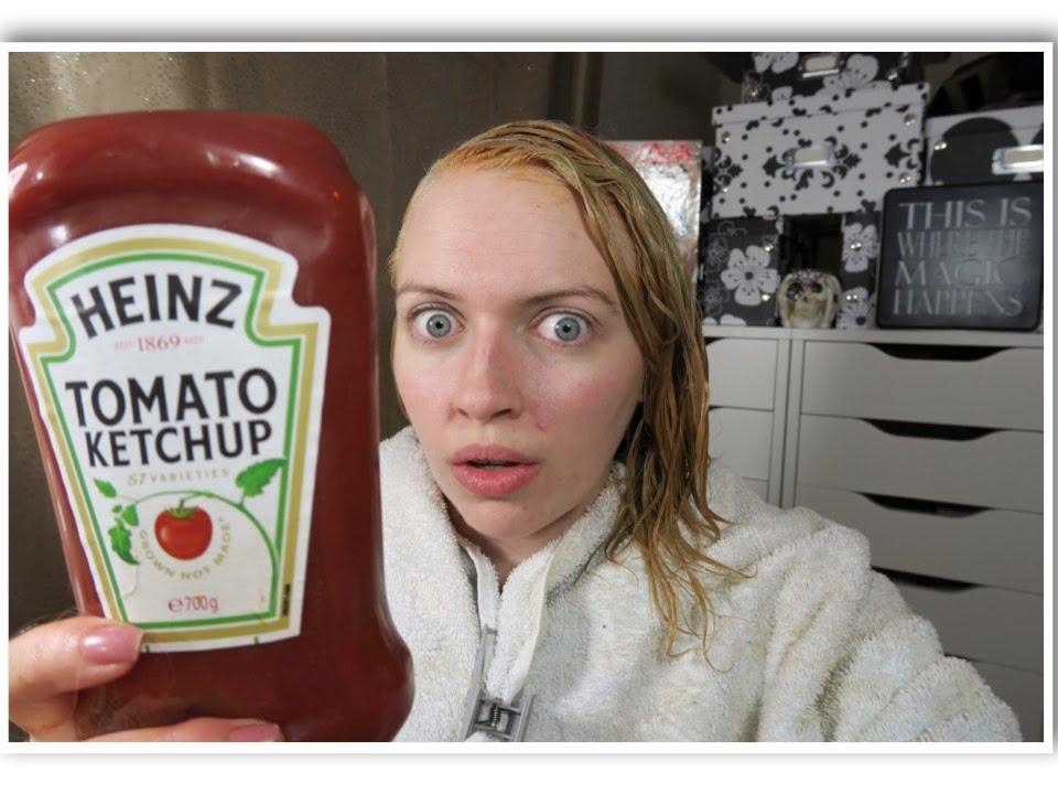 ketchup color correction green