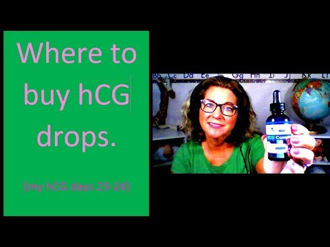 Where To Buy HCG Drops.  ( Days 23-24 On My Diet)