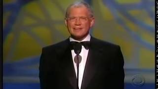 Tribute to Johnny Carson by David Letterman at the 2005 Emmy Awards