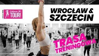 Treningi we Wrocławiu i Szczecinie - Relacja! | Codziennie Fit VLOG