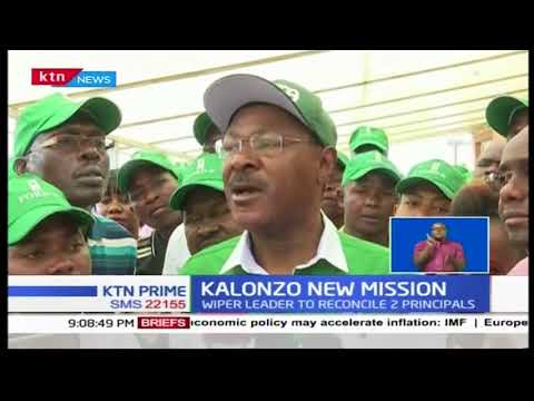 Wiper party leader Kalonzo Musyoka says he is not  aware that NASA is on its deathbed