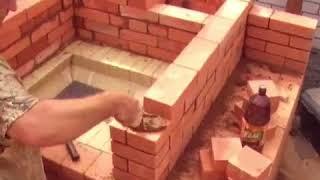 Печники Челябинска. Печи барбекю из кирпича. Как строится барбекю комплекс, порядовка, выложить печь