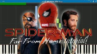 Spider man far from home theme song(EASY)