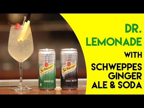 Dr. Lemonade || Mix the Fizz || Schweppes