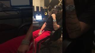 Russ Freestyling In The Studio @ www.OfficialVideos.Net