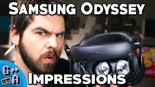 Sexy Hardware; Terrible Software! Samsung Odyssey Impressions - Game Away
