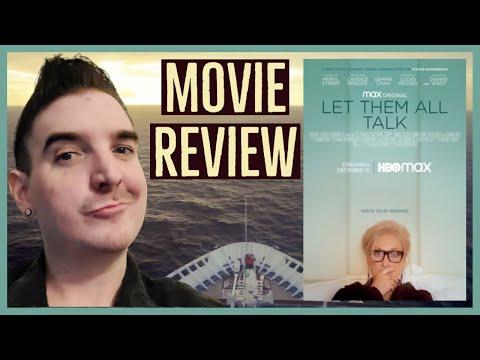 """Let Them All Talk"" (2020) Review | HBOMax MERYL STREEP New Film"