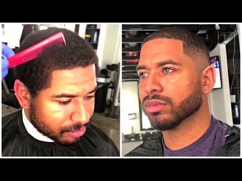 Low Fade With Waves (Compilation)   Cut By Dlucs   Afro Haircut