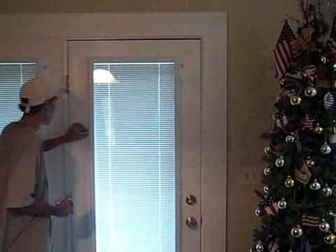 Painting Southport Nc Front Door Shade Install How To