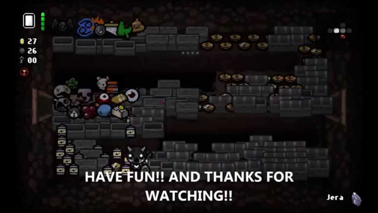 the binding of isaac rebirth  break the game easy and