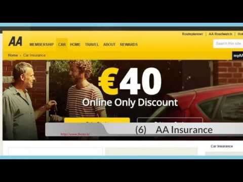 Top 10 Auto Insurance List in Ireland 2016