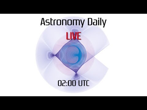 Astronomy Daily *Live* 180326 | Satellites, HOS.com, Cloudy Nights, Telescope Project, Nele