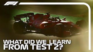 What We Learned From Test 2 | F1 Testing 2020