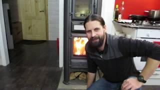 Обзор печи Tim Sistem Lederata Plus и рассказ про отопление.