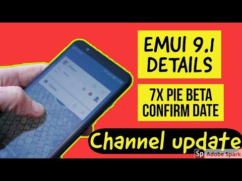 Emui 9 Update List
