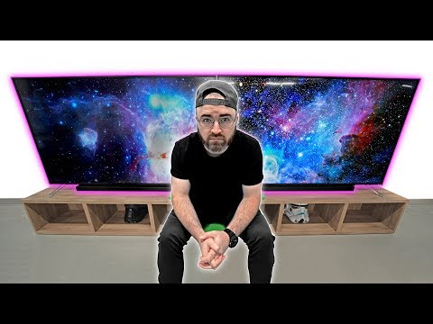Download Youtube: The Most INSANE Dual 75-inch Screen Setup!