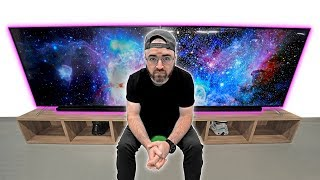 The Most INSANE Dual 75-inch Screen Setup!