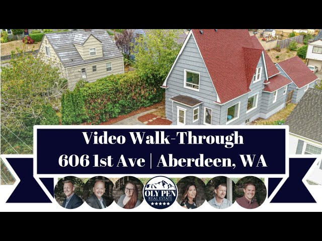 606 1st Ave | Aberdeen, WA | Video Walk-Through