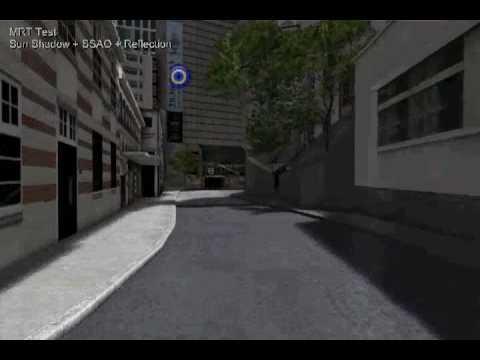 Hong Kong in VRML - X3D - Web3D (Shader Test MRT 2)