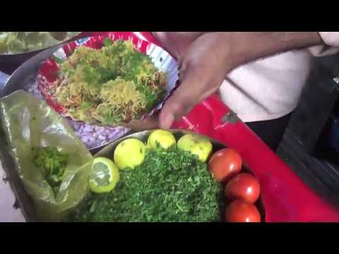 bombay bhel puri || juhu beach  mumbai travel food