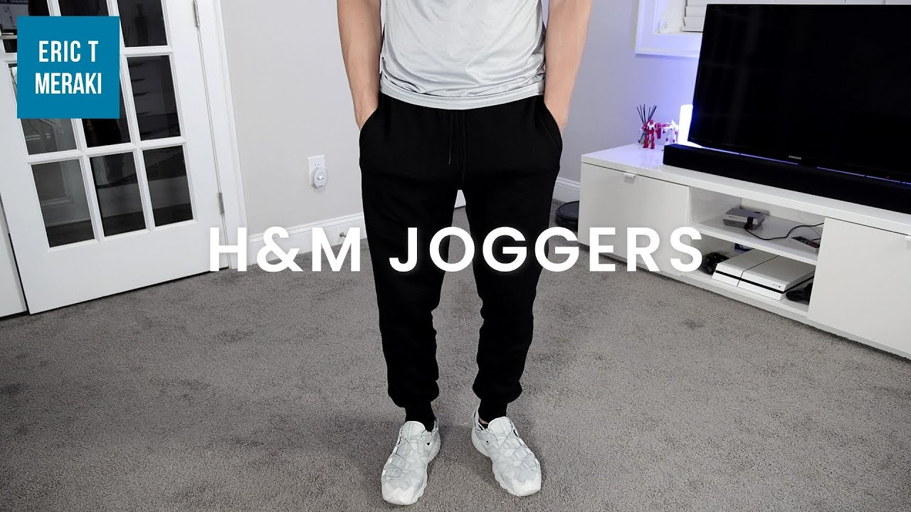 H M Men S Joggers Review Youtube