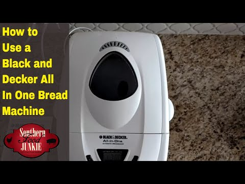 How To Use A Black And Decker All In One Bread Machine