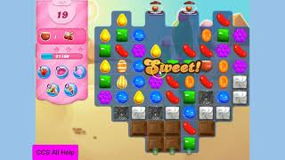 Candy Crush Saga Level 117 Super hard! NO BOOSTS
